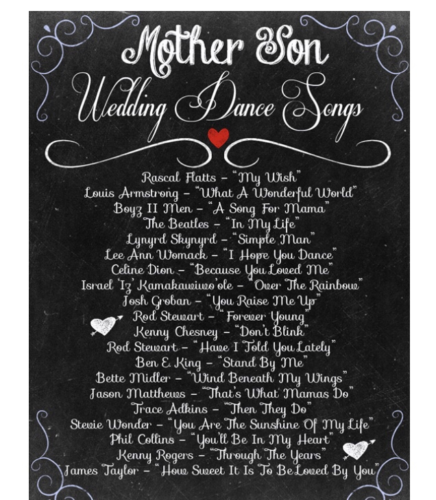Mother And Son Wedding Dance Songs.Best Mother Son Wedding Dance Songs The Wedding Crashers